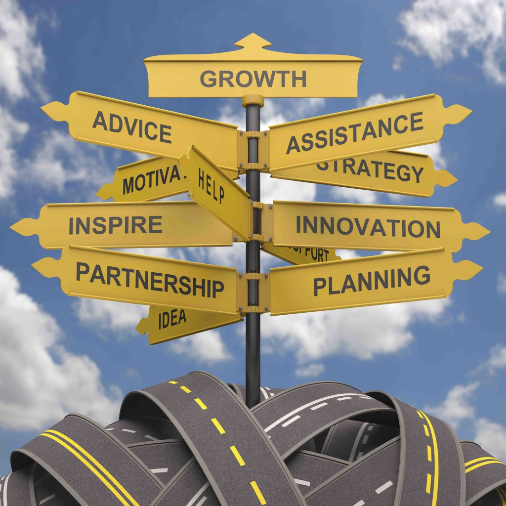 Several avenues for business growth.